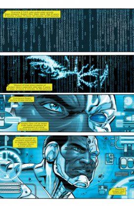 Cyborg Rebirth Página interior (1)