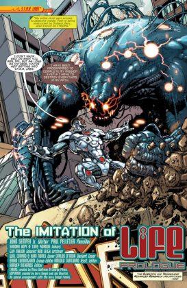 Cyborg Rebirth Página interior (2)