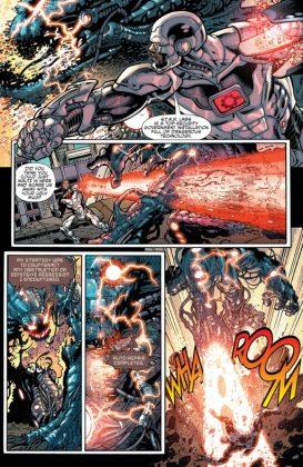 Cyborg Rebirth Página interior (3)