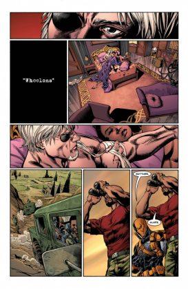 Deathstroke Rebirth Página interior (3)
