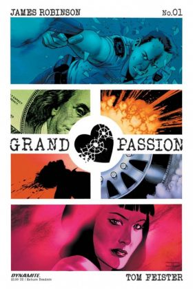 Grand Passion Portada de John Cassaday