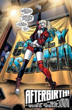 Harley Quinn Página interior (3)