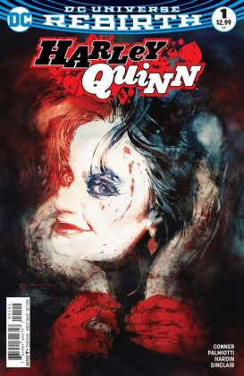 Harley Quinn Portada alternativa de Bill Sienkiewicz