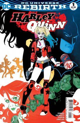 Harley Quinn Portada principal de Amanda Conner