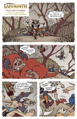 Jim Henson's Labyrinth 30th Anniversary Special Página interior (4)