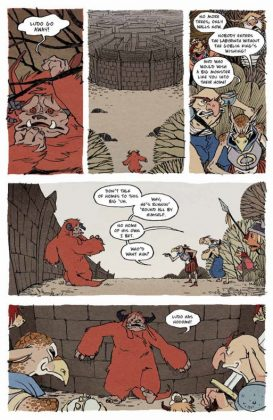 Jim Henson's Labyrinth 30th Anniversary Special Página interior (5)
