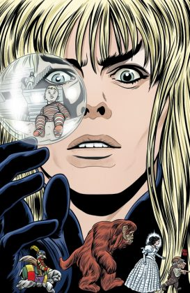 Jim Henson's Labyrinth 30th Anniversary Special Portada alternativa de Michael Allred