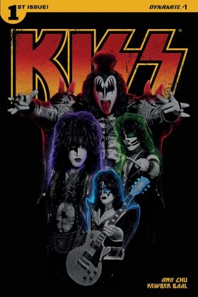 KISS Portada alternativa fotografía