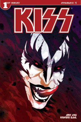 KISS Portada principal 'Demon' de Goni Montes