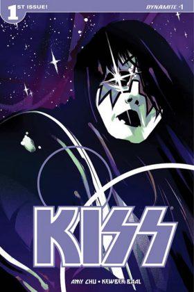 KISS Portada principal 'Spaceman' de Goni Montes