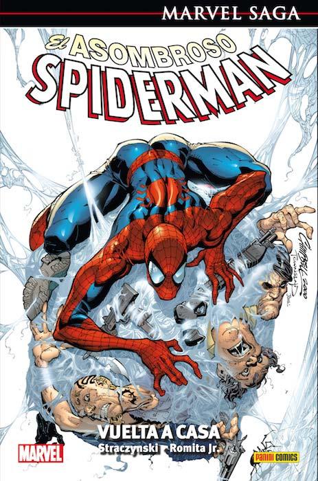 Marvel Saga Spiderman 1 portada