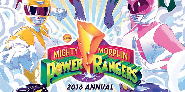 Mighty Morphin Power Rangers 2016 Annual Destacada