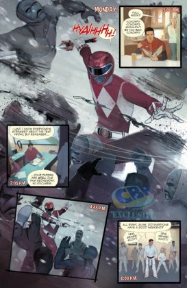 Mighty Morphin Power Rangers 2016 Annual Página interior (2)