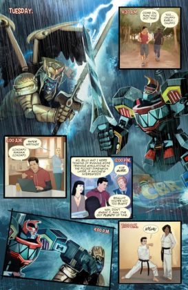Mighty Morphin Power Rangers 2016 Annual Página interior (3)