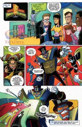 Mighty Morphin Power Rangers 2016 Annual Página interior (4)
