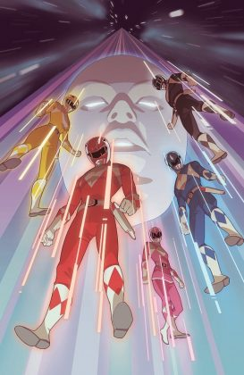Mighty Morphin Power Rangers 2016 Annual Portada alternativa de Richard Chang