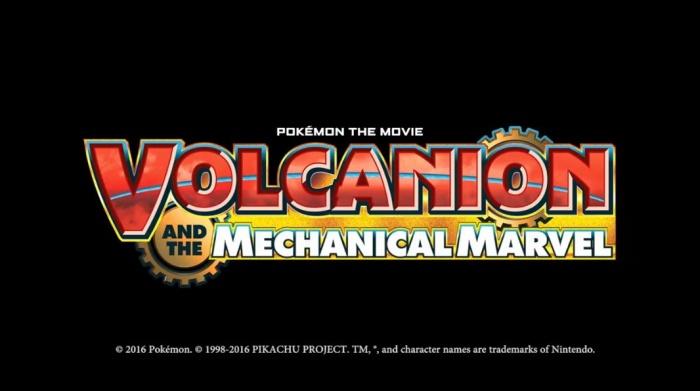 Pokémon The Movie Volcanion And The Mechanical Marvel