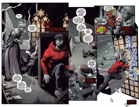 Red Hood and the Outlaws Página interior (2)
