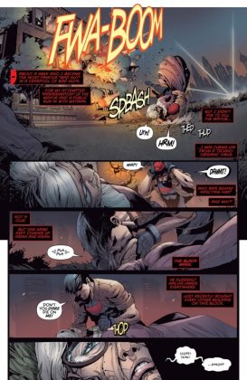 Red Hood and the Outlaws Página interior (4)