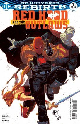 Red Hood and the Outlaws Portada alternativa de Matteo Scalera