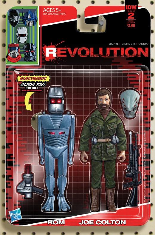 Revolution Portada alternativa de Adam Riches 2
