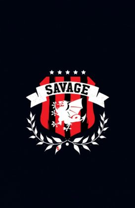Savage Portada alternativa de Jared Fletcher