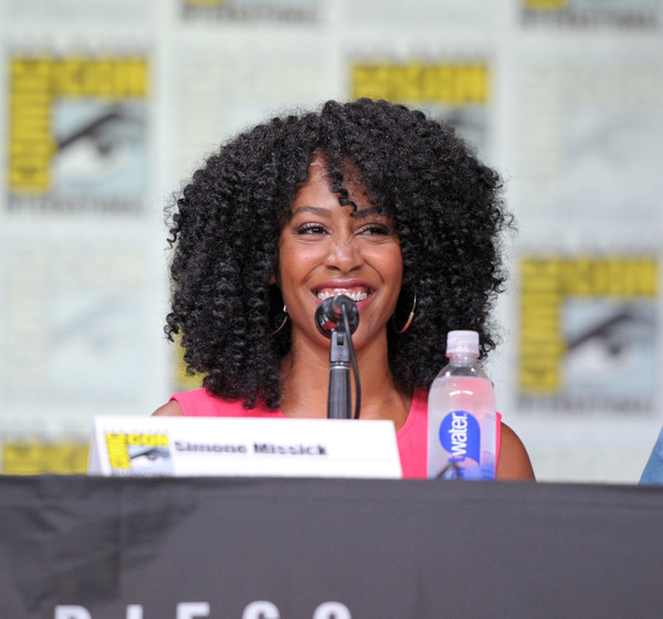 Simone Missick - panel Luke Cage SDCC16