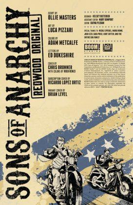 Sons of Anarchy Redwood Original Página interior (1)