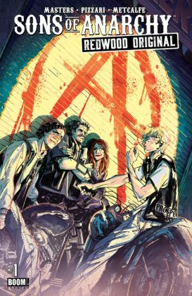 Sons of Anarchy Redwood Original Portada alternativa de Ricardo López Ortiz