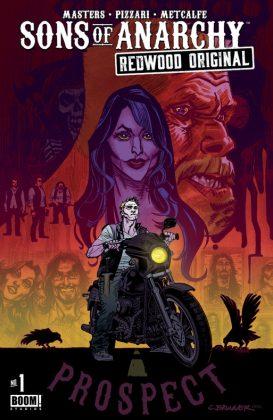 Sons of Anarchy Redwood Original Portada principal de Chris Bunner