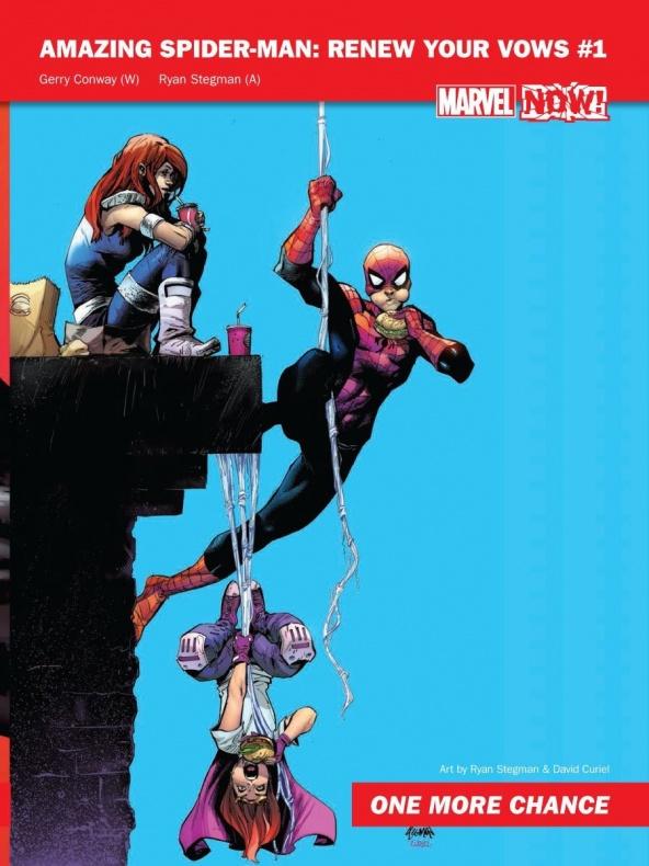 Spiderman renueva tus votos portada