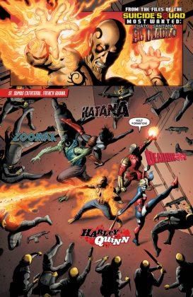 Suicide Squad Most Wanted El Diablo and Boomerang Página interior (1)