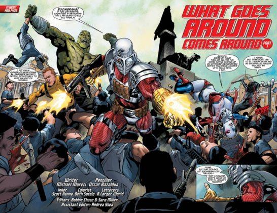 Suicide Squad Most Wanted El Diablo and Boomerang Página interior (11)
