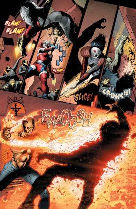 Suicide Squad Most Wanted El Diablo and Boomerang Página interior (2)