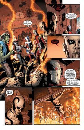 Suicide Squad Most Wanted El Diablo and Boomerang Página interior (3)