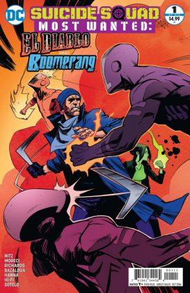 Suicide Squad Most Wanted El Diablo and Boomerang Portada alternativa de Rico Renzi