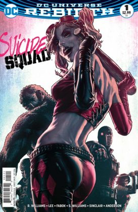 Suicide Squad Portada alternativa de Lee Bermejo