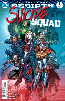 Suicide Squad Portada principal de Jim Lee y Scott Williams