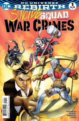 Suicide Squad War Crime Special Portada principal de Juan Ferreyra