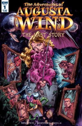 The Adventures of Augusta Wind The Last Story Portada de Vassilis Gogtzilas
