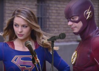 The Flash - Supergirl - episodio musical