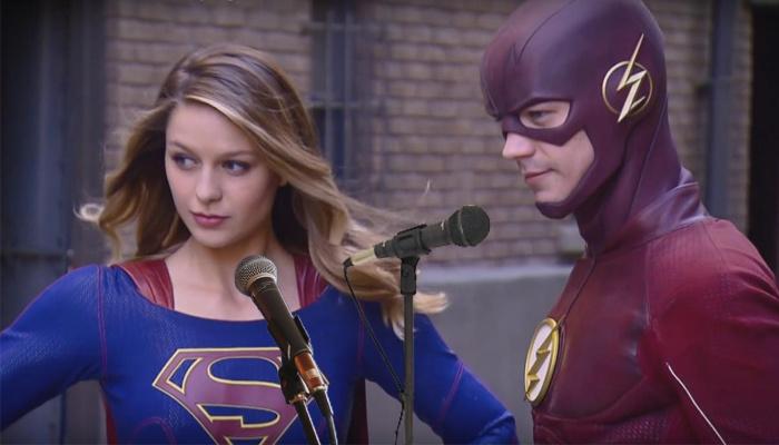 The Flash - Supergirl - episodio musical