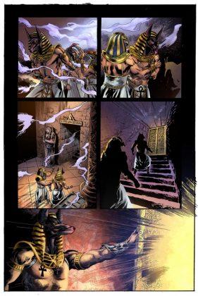 The Mummy Página interior (2)