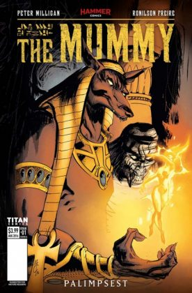 The Mummy Portada de John McCrea