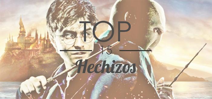 Top 15 hechizos Harry Potter