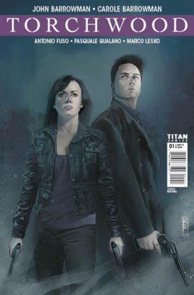 Torchwood Portada alternativa de Rod Reis