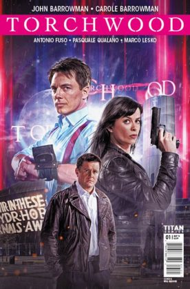 Torchwood Portada alternativa de Will Brooks
