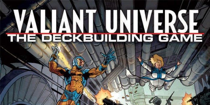 Valiant Universe The Deck Building Game Destacada