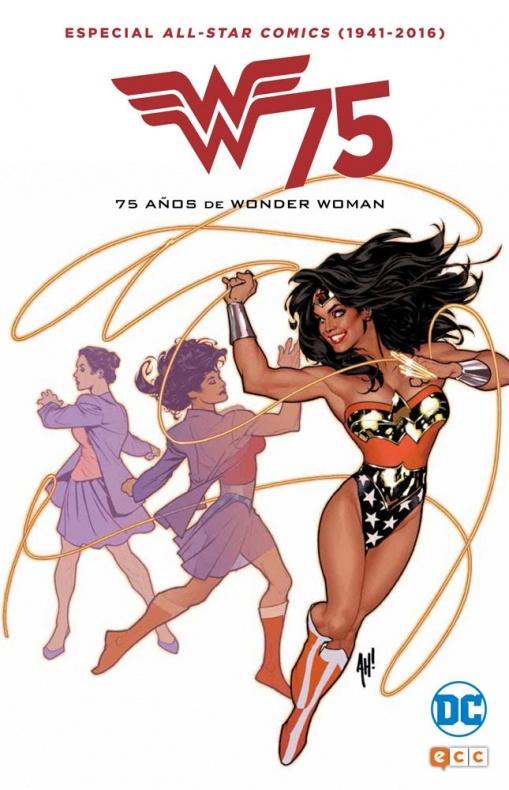 Wonder Woman 75 años - Especial All-Star Comics - Portada