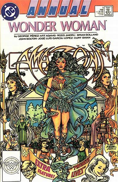 Wonder Woman vol. 2 Annual George Perez